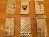 40 various phone cases