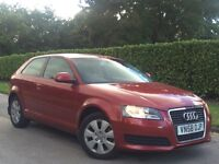 Audi A3 2009 1.4 TFSI S Tronic 3dr FULL SERVICE HISTORY+VERY RARE AUTOMATIC ONLY 50k
