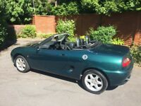 Lovely sporty MGF convertible in good condition. Low mileage. MOT until mid June 2019