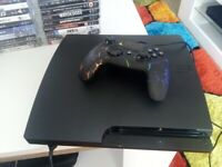 PS3 250gb Excellent Condition, One Controller 2 Metre Cable 24 Games