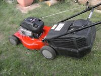 Sovereign 18 inch self propelled mower all working ok lawnmower