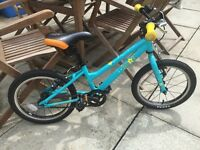 """Kids girls bike age group 4-6 Make Carrera Star 16"""" excellent condition"""