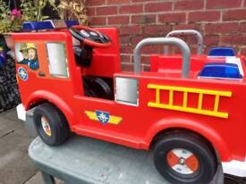 Fireman Sam Electric Ride On