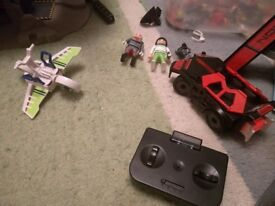 Playmobil Future Planet. Big set of Eco friendly space play with laser guns!
