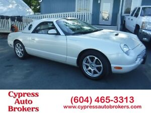 2005 Ford Thunderbird 50th Anniversary Edition
