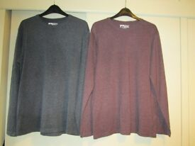 MENS PRIMARK TOPS 2 X CREW NECK SIZE S 2 X POLO SHIRT SIZE M