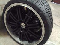 set 18 inch alloy wheels 150 nearest offer