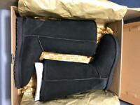 Ugg boots - Classic Tall II - Black Size 5.5