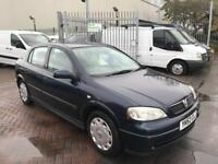 52 REG VAUXHALL ASTRA 1.6 CHEAP RUNNER LONG MOT SUPERB DRIVE LOW MILES TIDY CAR FOR THE YEAR BARGAIN