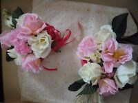 Wedding Flowers - Bouquet, Garland & Posys (Vintage) - £5 only
