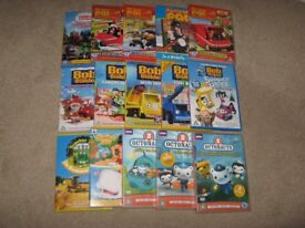 Kids DVD Collection, Thomas, Octonauts, Bob the builder, Postman Pat