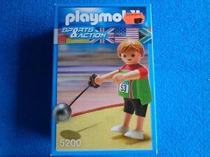 Playmobil-Sports-amp-Action-Lanzamiento-martillo-hammer-thrower-5200