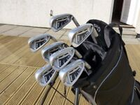 Ping i20 irons, 4 to PW. TTDG R300 Reg Shafts, 3° upright, new Golf Pride grips. Standard length.