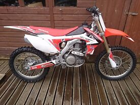 2013 Honda CRF450 R Motocross PX and Delivery possible