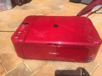 CANON PIXMA All-in-One Inkjet Printer- Red