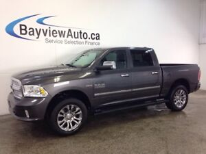 2014 Dodge RAM 1500 LTD- HEMI! REMOTE START! ROOF! LEATHER! NAV!