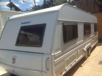 TABBART VIVALDI 655 TWIN AXLE 2008--09 GOOD CONTION 4/5 BERTH MUST BE SEEN FULL PAPER WORK