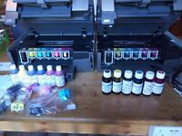 HP Photosmart Printer 3310 and 3110 plus HUGE amount of spear ink