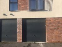 Brand new garage has secure alarm system with secure lighting at Bedminster.
