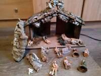 Nativity set christmas