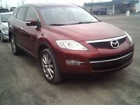 2007 Mazda CX-9 GT**AWD**LEATHER**SUNROOF** 7 PASSENGERS**3 YEAR