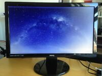 "BENQ 21.5"" Monitor GL2250-T, great condition"