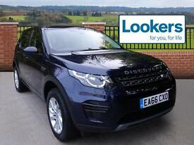 Land Rover Discovery Sport TD4 SE (blue) 2016-10-31