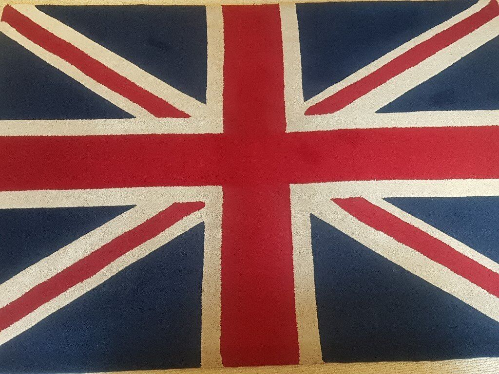 Vintage style Union Jack thick rug 170 x 120 - Jack Wills Styling