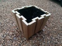 Large Wooden Planter - BRAND NEW - Pressure Treated and Lined - MORE AVAILABLE!