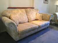 Duresta sofas three seater ,two seater and footstool