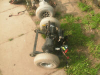 disability scooter motors x2 spares or repairs