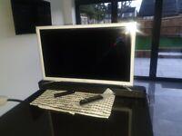 Samsung 32 inch smart tv & sony sound bar