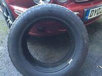205 55 16 Michelins Pilot tyre 5mm
