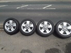 "VW Transporter 17""alloys with tyres"