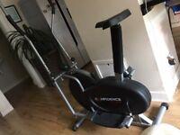 Exercise bike and cross trainer for sake