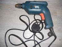 Black & Decker Single Speed Hammer Drill - Missing Chuck Key!!
