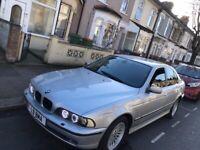 BMW 530D Turbo Diesel Automatic 4 door saloon 1999 Silver