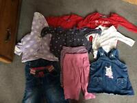 6-9 months girls clothes bundle