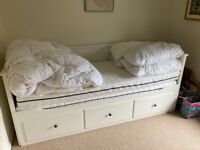 Ikea hermes day bed and two mattresses