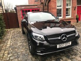 Mercedes GLC coupe- immaculate condition - Night & Premium pack