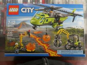 Brand New Lego City Volcano Supply Helicopter