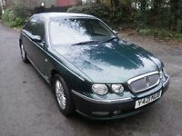 Rover 75 cdt ,12 months m.o.t British Racing green ,full service history ,vgc ,waxoiled,