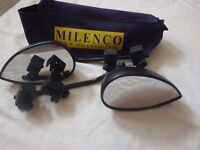WING MIRRORS FOR TOWING TRAILER CARAVAN MILENCO