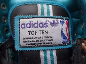 ADIDAS ORIGINALS TOP TEN HI NBA TRAINERS Size 10