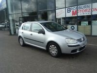 2006 56 VOLKSWAGEN GOLF 1.6 S FSI 5d 114 BHP FREE 12 MONTHS MOT **** GUARANTEED FINANCE ****