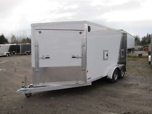 2017 Mission Trailers 7 ' x 19' ALL ALUMINUM SLED TRAILER Peterborough Peterborough Area image 3