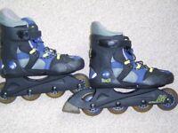 Boy's K2 roller skates