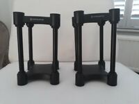 IsoAcoustics L8R 130 monitor speakers stands
