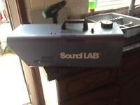 Sound lab Hazer with Remote