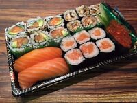 FULL/PART-TIME kitchen staff @ Edo Sushi. Busy city centre takeout specialising in Japanese food